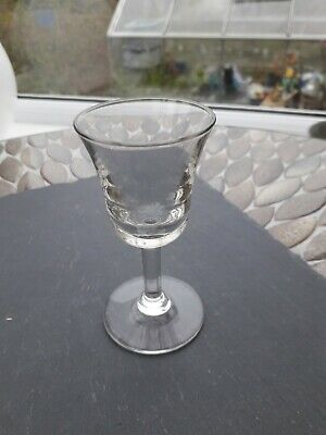 Small Stemmed Glass ' Penny Lick' ? Old In Excellent Condition • 3.50£