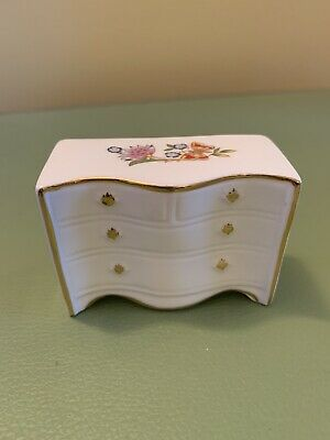 Aynsley, Vintage, Cottage Garden, Miniature Furniture, Chest Of Drawers, M4  • 6.99£