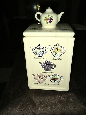Ringtons The Heritage Collection Teapot Caddy • 7£