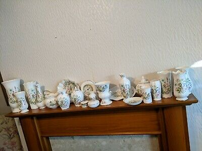 Ainsley Wild Tudor Bone China Collection/ Job Lot Excellent Condition • 10£