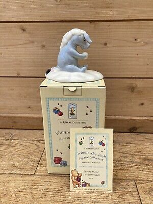 Hand Made ROYAL DOULTON Eeyore Made A Wintery Wish - The Winnie The Pooh Collctn • 8.99£
