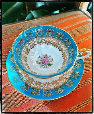 Queens English Bone China Cup And Saucer. • 15£