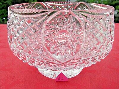 A  Stunning Irish Tyrone Crystal Bowl Dish Centrepiece. Others Listed?  • 24.95£