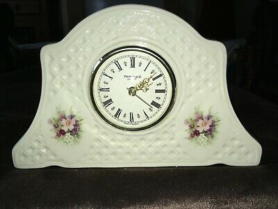 Donegal China Irish Parian China  Mantle Boudoir Bedroom Clock • 10£