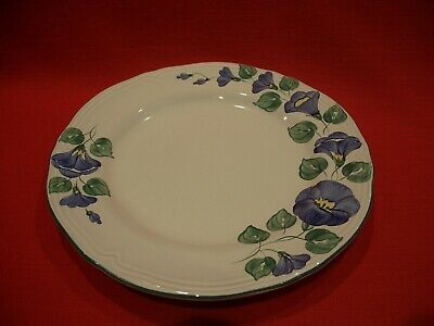 Herend Hungary Village Pottery Hand Painted ~ Petunia ~ 8  Salad / Dessert Plate • 14.99£