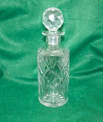 Vintage Crystal Cut Class Decanter By Thomas Webb & Corbett C1970 Excellent Cond • 25£