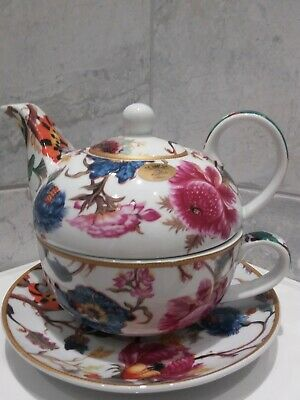 The Leonardo Collection Anthina Lesser & Pavey 1971 Teapot & Cup & Sauce Set • 11.50£