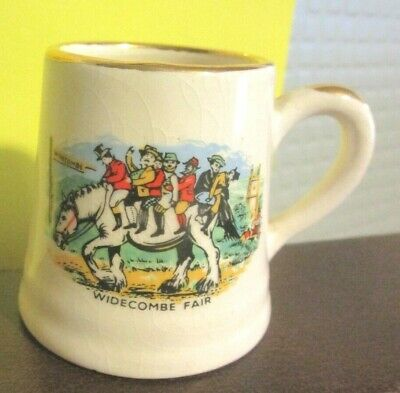Crested China  Widecombe Fair  • 2.99£