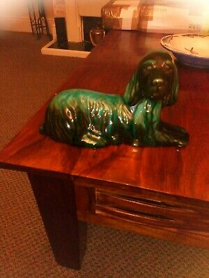 Canadian Blue Mountain Pottery Cocker Spaniel Statue Red Ware  • 20£