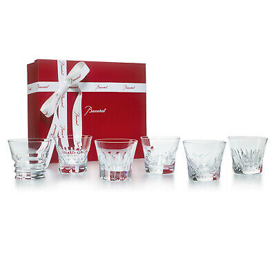 Baccarat Crystal Everyday Set Of 6 Classic Tumblers #2809854 Brand Nib Save$ F/s • 402.28£