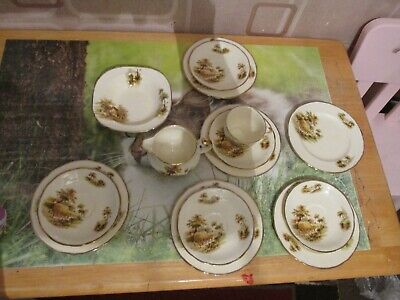 Alfred Meakin Vintage Country Life 14 Items Set • 12.99£