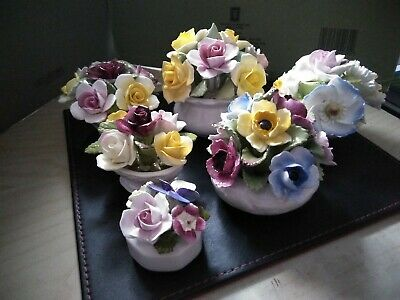 China Posy Collection (aynsley, Coalport, Doulton, Rosedale, Royale Stratford) • 4.99£