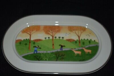 Villeroy & Boch Design Naif Country Scene Large Serving Plate 38 Cm • 6.50£
