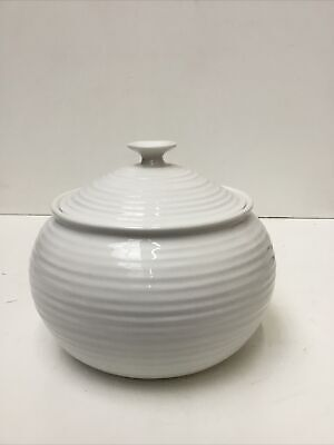 Sophie Conran For Portmeirion Large Casserole Dish White Preowned 868A71 • 12.50£