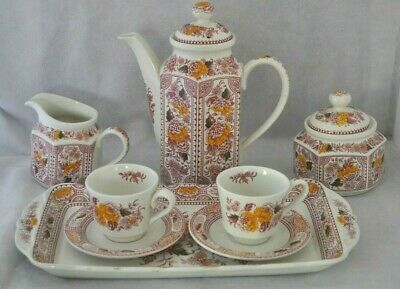 "Lovely Ridgways Ironstone ""Canterbury"" 8 Piece Tea For Two Set • 17.50£"