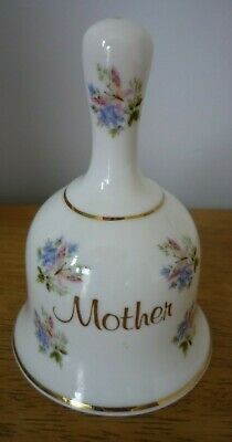 Fenton  China Company Bone China Bell 'Mother' Flowers And Butterfly • 5£