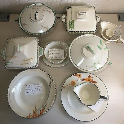 Burleigh Ware Art Deco Collection To Clear • 75£