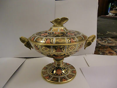 Rare Spode Copeland's  19th Century Pot Pourii With Butterfly Handles • 250£