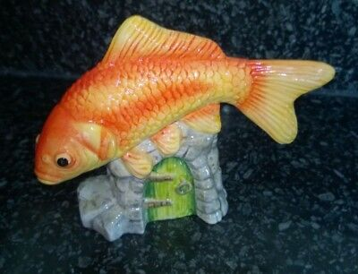 Vintage Beswick RSPCA Pet Pals Orange Goldfish Figurine JBDP2 • 14.99£