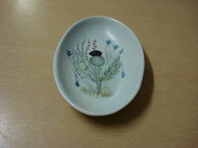 Buchan Stoneware THISTLE PATTERN Oval Butter Tray/Spoon Rest  • 6.99£