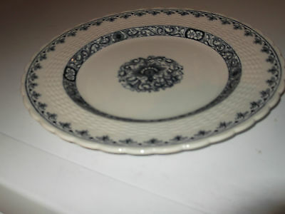 1881 Minton Dinner / Salad Plate In Blue And White Ganges Pattern • 22.99£