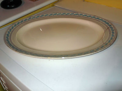 Very Large   Minton Oval Plate / Platter In Guildford Pattern    • 17.99£