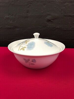 Wedgwood Ice Rose Lidded Covered Vegetable Serving Dish Bowl Last 1 Available • 19.99£