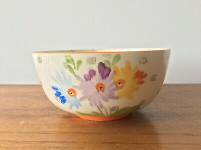 Art Deco 1930's Hancock's Ivory Ware Hand-Painted Bowl • 5.95£