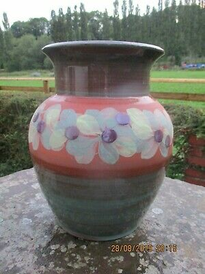 Large Jersey Pottery  Vintage Vase ,,Nice Condition • 20£
