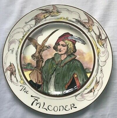 Vintage Royal Doulton The Falconer 10½   Collectable Plate Seriesware • 8£