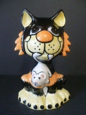 Lorna Bailey Fireside Cat Large  Ratcatcher  Made For Usa Market Extremely Rare! • 110£