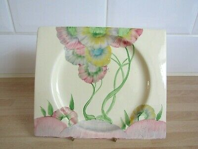 Clarice Cliff  Pink Pearls  Biaritz Side Plate • 75£