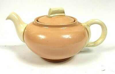 Vintage Grindley Small One Cup Tea Pot 1950s  Pink Brown Colour • 9.99£