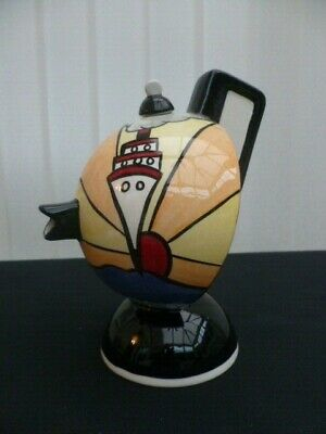 Lorna Bailey Hand Painted  Cruise  Tea Pot Unused Signed Rare Lovely • 64.99£