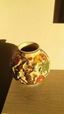 IndiAn Tea Tree Pot Hand Painted By AJ Woods • 25£