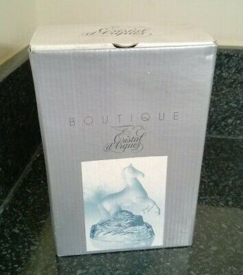 Cristal D'Arques Rearing Horse Lead Crystal Figurine Statue Boxed • 14.99£