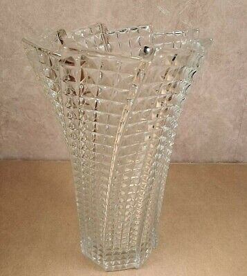 Vintage Pressed Glass Celery Vase • 24.99£