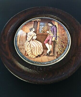 A Prattware Lid ( First Appeal) • 33£