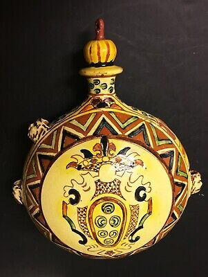 SN545 A Pottery Pilgrims Flask. • 56£