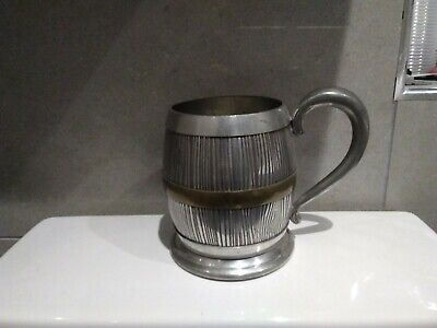 Theakston Barrel Pewter Tankard • 30£