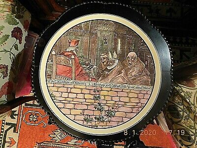 Large Royal Doulton Series Ware Charger The Jackdaw Of Rheims • 45£