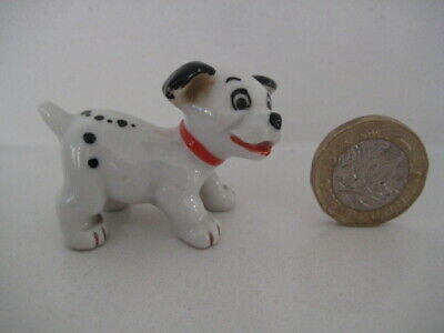 Vintage Wade Whimsies Disney's 101 Dalmatians Lucky Disney Series Puppy • 24.99£