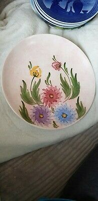 Vintage Radford Hand Painted Plate Pink Flowers Floral Beautiful Pretty Stunning • 6£