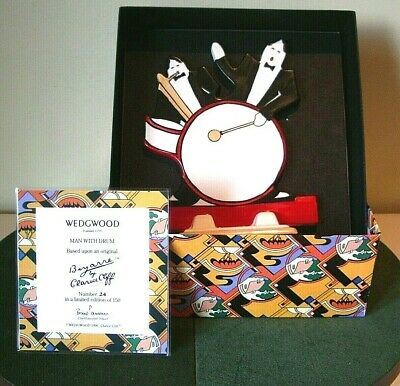 Wedgewood Clarice Cliff  Bizarre   Man With A Drum   • 225£