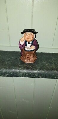 Vintage Vicar Character Toby Jug Interesting Unusual Collectable  • 5£