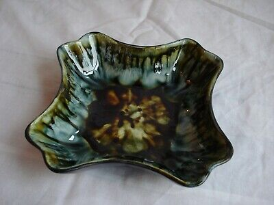 Portmadoc  Porthmadog Cymru Wales Pottery Biscuit Plate In Good Condition • 20£