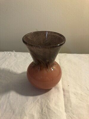 Monart Art Glass Vase • 12£