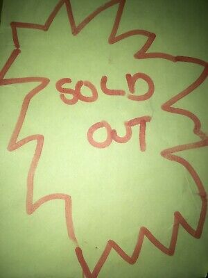 Pretty Sign Saying Sold Out • 114.95£