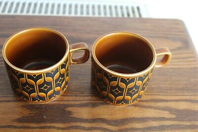 Pair Of Hornsea Heirloom Cups • 4.49£