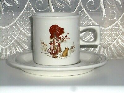 Barratts Of Staffordshire Holly Hobby Cup And Saucer Circa 1978 • 5£